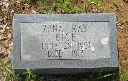 BICE, ZENA RAY - Logan County, Arkansas | ZENA RAY BICE - Arkansas Gravestone Photos