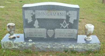 BINGAMAN, HAZEL E. - Logan County, Arkansas | HAZEL E. BINGAMAN - Arkansas Gravestone Photos