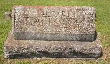 BLEND, ALTA VEDDER - Logan County, Arkansas | ALTA VEDDER BLEND - Arkansas Gravestone Photos