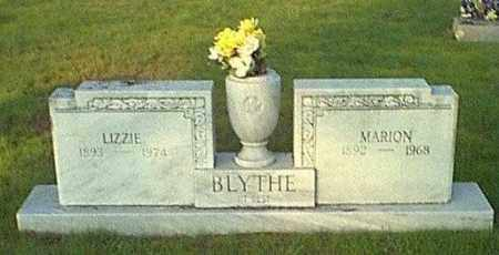 BLYTHE, LIZZIE - Logan County, Arkansas | LIZZIE BLYTHE - Arkansas Gravestone Photos