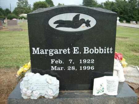 BOBBIT, MARGARET E. - Logan County, Arkansas | MARGARET E. BOBBIT - Arkansas Gravestone Photos