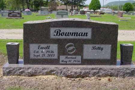 BOWMAN, EWELL - Logan County, Arkansas | EWELL BOWMAN - Arkansas Gravestone Photos