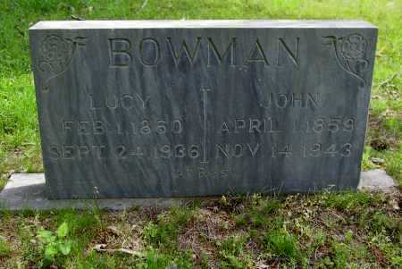 BOWMAN, LUCY A - Logan County, Arkansas | LUCY A BOWMAN - Arkansas Gravestone Photos