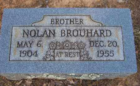 BROUHARD, NOLAN - Logan County, Arkansas | NOLAN BROUHARD - Arkansas Gravestone Photos