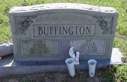 BUFFINGTON, BENNIE - Logan County, Arkansas | BENNIE BUFFINGTON - Arkansas Gravestone Photos