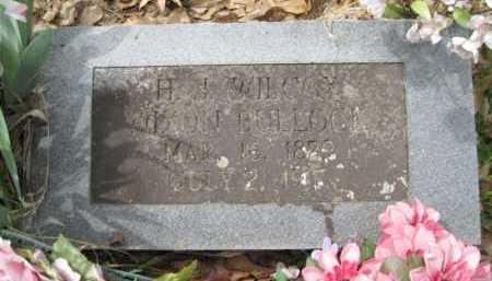 BULLOCK, H J  NIXON - Logan County, Arkansas | H J  NIXON BULLOCK - Arkansas Gravestone Photos