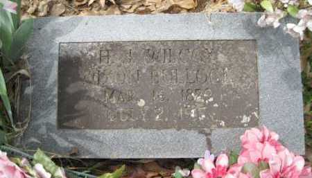 WILCOX BULLOCK, H J  NIXON - Logan County, Arkansas | H J  NIXON WILCOX BULLOCK - Arkansas Gravestone Photos