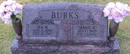 BURKS, MABEL V. - Logan County, Arkansas | MABEL V. BURKS - Arkansas Gravestone Photos
