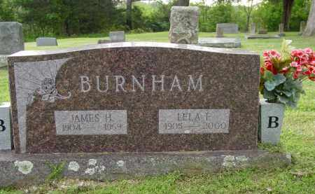 BURNHAM, SR., JAMES HASKELL - Logan County, Arkansas | JAMES HASKELL BURNHAM, SR. - Arkansas Gravestone Photos