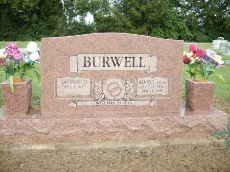 "BURWELL, ALVIN ""PEE WEE"" INGHAM - Logan County, Arkansas | ALVIN ""PEE WEE"" INGHAM BURWELL - Arkansas Gravestone Photos"