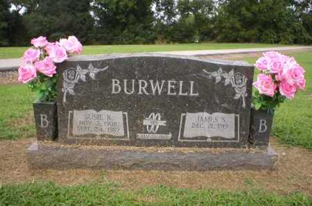 BURWELL, SUSIE K. - Logan County, Arkansas | SUSIE K. BURWELL - Arkansas Gravestone Photos
