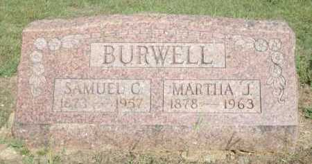 INGHAM BURWELL, MARTHA J. - Logan County, Arkansas | MARTHA J. INGHAM BURWELL - Arkansas Gravestone Photos