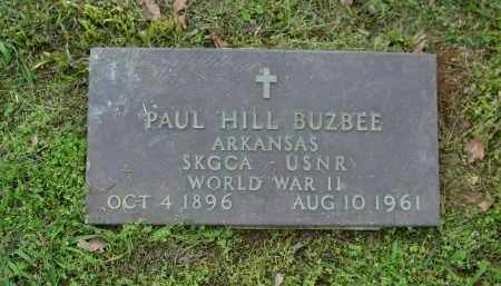 BUZBEE (VETERAN WWII), PAUL HILL - Logan County, Arkansas | PAUL HILL BUZBEE (VETERAN WWII) - Arkansas Gravestone Photos