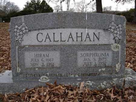CALLAHAN, HIRAM - Logan County, Arkansas | HIRAM CALLAHAN - Arkansas Gravestone Photos