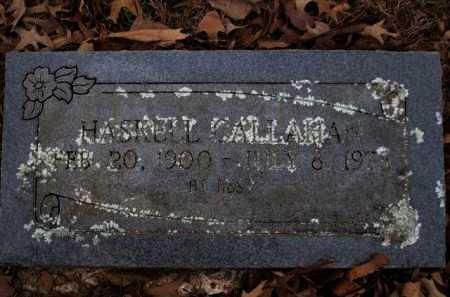 CALLAHAN, HASKELL - Logan County, Arkansas | HASKELL CALLAHAN - Arkansas Gravestone Photos