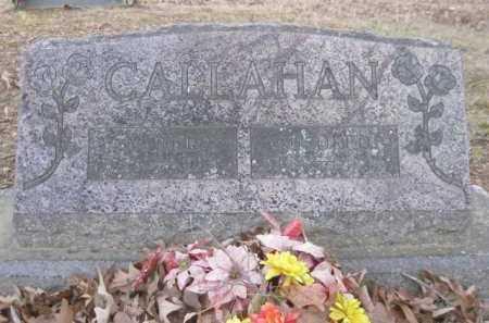 CALLAHAN, VANCE - Logan County, Arkansas | VANCE CALLAHAN - Arkansas Gravestone Photos