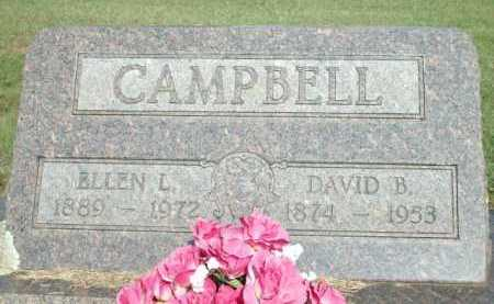 CAMPBELL, DAVID B. - Logan County, Arkansas | DAVID B. CAMPBELL - Arkansas Gravestone Photos