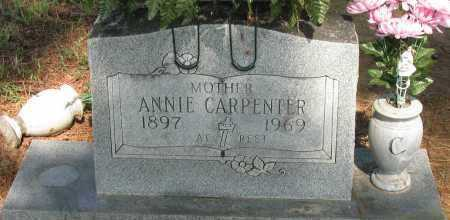 CARPENTER, ANNIE - Logan County, Arkansas | ANNIE CARPENTER - Arkansas Gravestone Photos