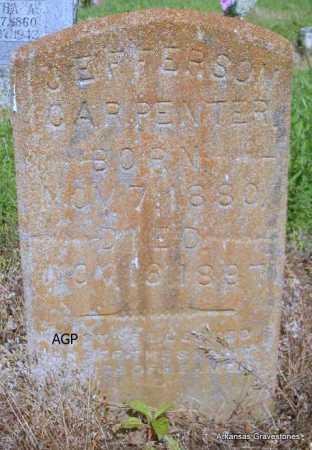 CARPENTER, JEFFERSON - Logan County, Arkansas | JEFFERSON CARPENTER - Arkansas Gravestone Photos