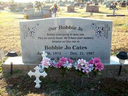 CATES, BOBBIE JO - Logan County, Arkansas | BOBBIE JO CATES - Arkansas Gravestone Photos