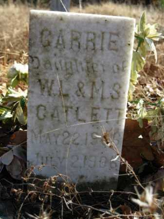 CATLETT, CARRIE - Logan County, Arkansas | CARRIE CATLETT - Arkansas Gravestone Photos