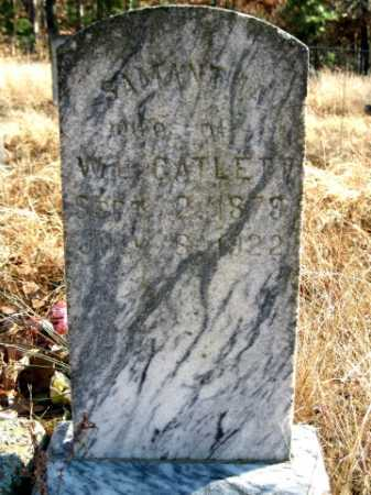CATLETT, SAMANTHA - Logan County, Arkansas | SAMANTHA CATLETT - Arkansas Gravestone Photos