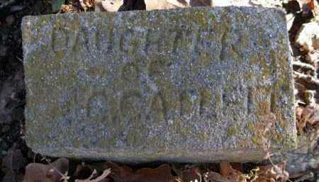 CATLETT, DAUGHTER - Logan County, Arkansas | DAUGHTER CATLETT - Arkansas Gravestone Photos