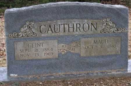 CAUTHRON, CLINT - Logan County, Arkansas | CLINT CAUTHRON - Arkansas Gravestone Photos
