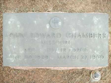 CHAMBERS (VETERAN), JOHN EDWARD - Logan County, Arkansas | JOHN EDWARD CHAMBERS (VETERAN) - Arkansas Gravestone Photos