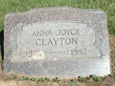 CLAYTON, ANNA JOYCE - Logan County, Arkansas | ANNA JOYCE CLAYTON - Arkansas Gravestone Photos