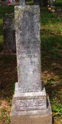 COLE, GEORGE - Logan County, Arkansas   GEORGE COLE - Arkansas Gravestone Photos