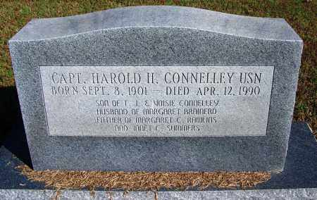 CONNELLEY (VETERAN 2 WARS), HAROLD HASKEL - Logan County, Arkansas | HAROLD HASKEL CONNELLEY (VETERAN 2 WARS) - Arkansas Gravestone Photos