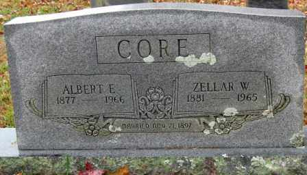 CORE, ALBERT E. - Logan County, Arkansas | ALBERT E. CORE - Arkansas Gravestone Photos
