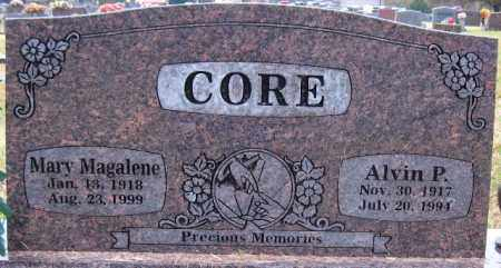 CORE, MARY MAGALENE - Logan County, Arkansas | MARY MAGALENE CORE - Arkansas Gravestone Photos