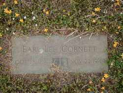 CORNETT, EARL LEE - Logan County, Arkansas | EARL LEE CORNETT - Arkansas Gravestone Photos