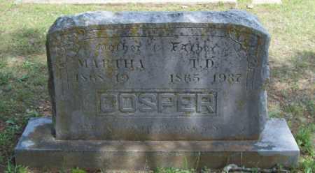 COSPER, T.D. - Logan County, Arkansas | T.D. COSPER - Arkansas Gravestone Photos