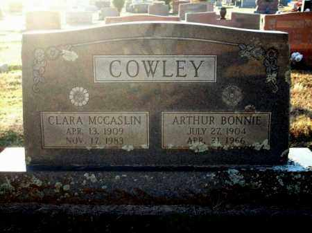 COWLEY, CLARA - Logan County, Arkansas | CLARA COWLEY - Arkansas Gravestone Photos