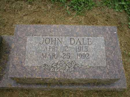 DALE, JOHN - Logan County, Arkansas | JOHN DALE - Arkansas Gravestone Photos