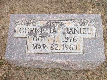 DANIEL, CORNELIA - Logan County, Arkansas | CORNELIA DANIEL - Arkansas Gravestone Photos
