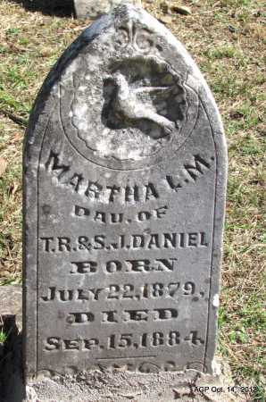 DANIEL, MARTHA L M - Logan County, Arkansas | MARTHA L M DANIEL - Arkansas Gravestone Photos