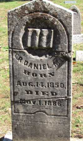 DANIEL, THOMAS ROLAND - Logan County, Arkansas | THOMAS ROLAND DANIEL - Arkansas Gravestone Photos