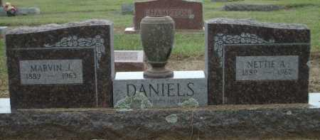 DANIELS, NETTIE A. - Logan County, Arkansas | NETTIE A. DANIELS - Arkansas Gravestone Photos
