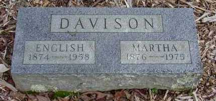 DAVIDSON, ENGLISH LINCOLN - Logan County, Arkansas | ENGLISH LINCOLN DAVIDSON - Arkansas Gravestone Photos