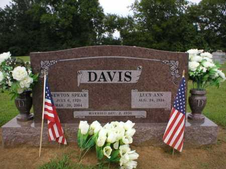 DAVIS  (VETERAN WWII), NEWTON SPEAR - Logan County, Arkansas | NEWTON SPEAR DAVIS  (VETERAN WWII) - Arkansas Gravestone Photos