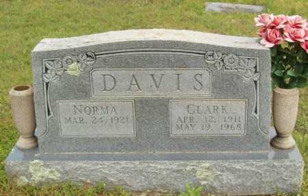 DAVIS, CLARK - Logan County, Arkansas | CLARK DAVIS - Arkansas Gravestone Photos