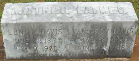 DAVIS, WALTER A. - Logan County, Arkansas | WALTER A. DAVIS - Arkansas Gravestone Photos