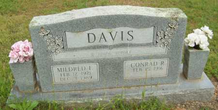 DAVIS, MILDRED F. - Logan County, Arkansas | MILDRED F. DAVIS - Arkansas Gravestone Photos
