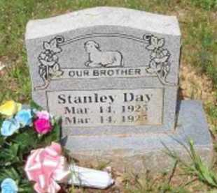 DAY, STANLEY - Logan County, Arkansas | STANLEY DAY - Arkansas Gravestone Photos
