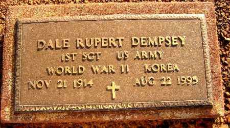 DEMPSEY (VETERAN 2 WARS), DALE RUPERT - Logan County, Arkansas | DALE RUPERT DEMPSEY (VETERAN 2 WARS) - Arkansas Gravestone Photos