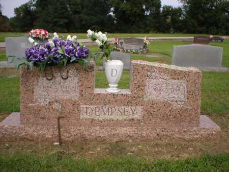 DEMPSEY, JOHN E. - Logan County, Arkansas   JOHN E. DEMPSEY - Arkansas Gravestone Photos